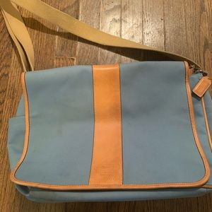 Coach messenger bag.